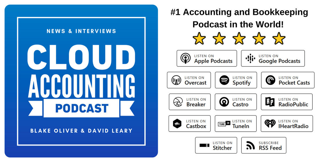 The #1 accounting and bookkeeping podcast in the world!